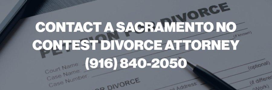 sacramento uncontested divorce lawyer